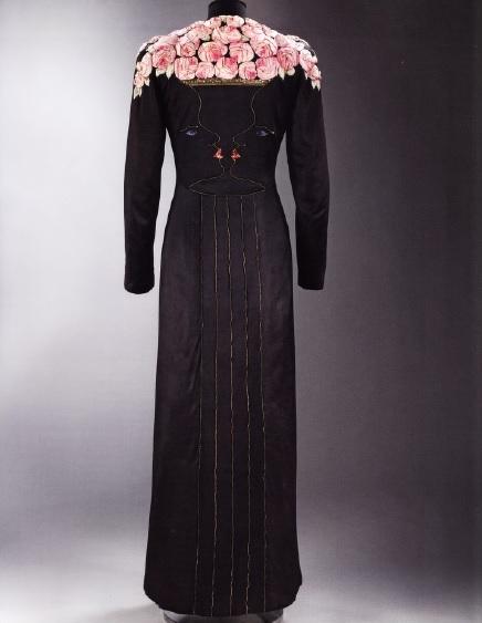 Платье Скьяпапарелли по мотивам картины Жана Кокто