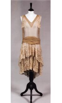 Платье-сорочка из шелкового шифона
