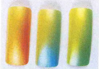 Плавные переходы от одного контрастного цвета к другому