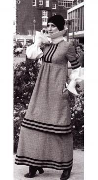 Подобие платья церковной хористки (Дж. Бейтс, 1971г)