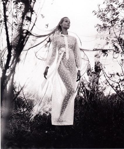 Полупрозрачное платье от Кристиана Диора (1968 г)