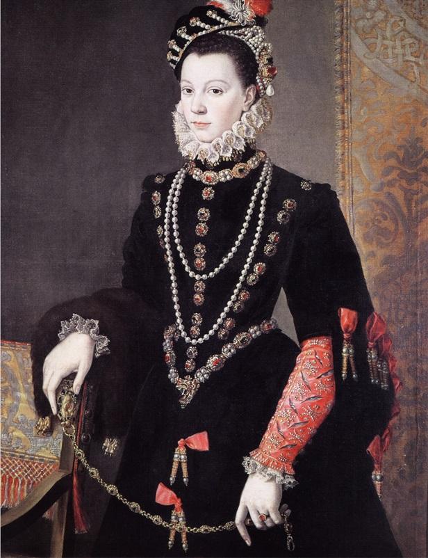 Портер Изабеллы Валуа (де ла Крус, 1605)
