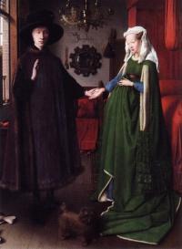 «Портрет четы Арнольфини» (художник Ян ван Эйк)
