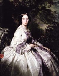 Портрет графини Ламсдорф (Винтерхальтер, 1859г)