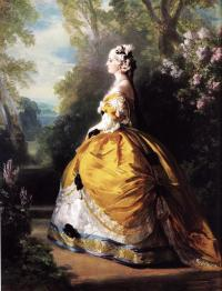 Портрет императрицы Евгении (Ф. К. Винтерхальтера, 1854г)