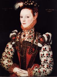 Портрет королевской фрейлины, 1569г.