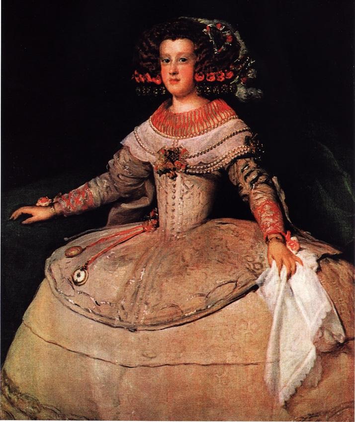 Портрет Марии Терезы Испанской (1653, Диего Веласкес)