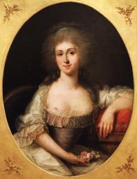 Портрет Марии-Терезы-Луизы де Савой-Кариньян (художник Дюплесси)