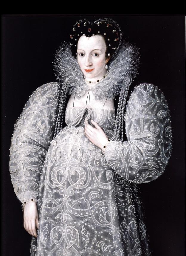 «Портрет неизвестной» (М. Герартс, 1595г)