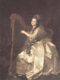 Портрет воспитанницы Императорского воспитат-го общ-ва благородных девиц Глафиры И.Алымовой. 1773