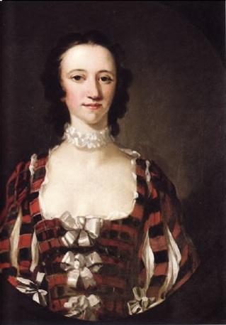 Потрет Флоры Макдональд (1747г.)