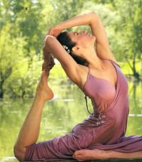 Йога делает женщину привлекательной