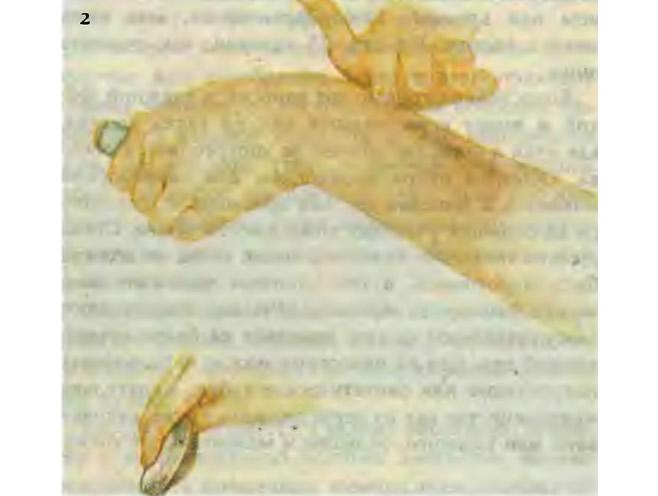 Проверьте ровность покрытия безымянным пальцем