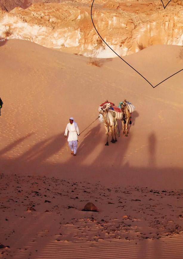 Пустыня - это застывшие километры во времени