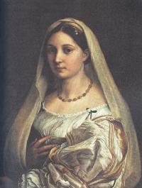 Рафаэль Санти. Донна Велата. Около 1513