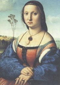 Рафаэль Санти. Портрет Маддалены Дони. 1506