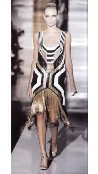 Расшитое бисером платье (Gucci, осень/зима 2011-2012гг)