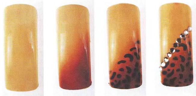 Рисунок с леопардовыми пятнами