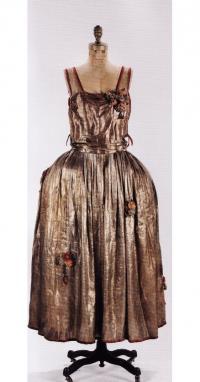 Robe de styl руки модельера Жанны Ланвен (1922г.)