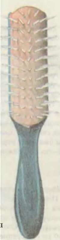 Щетка на резиновой основе