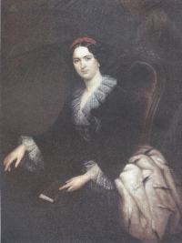Сергей Зарянко. Портрет светлейшей княгини Анны Алексеевны. 1856