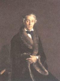 Сергей Зорянко. Потрет художника и скульптора Ф.П.Толстого. 1850