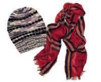 Шапка, перчатки, шарф