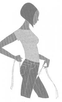 Схема измерения шага