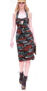 Скрученное платье от К. Бейли (Burberry, весна-лето 2010)