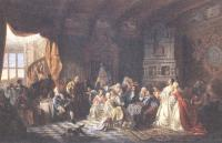 Станислав Хлебовский. Ассамблея при Петре I. 1860-1884