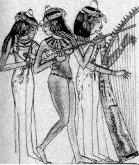 Стенная живопись из гробницы Нахт, около Фив. Конец 15 в. до н.э.