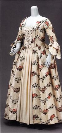 Свадебное платье Сары Тинг Смит 1763 года
