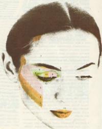 Светлый вариант макияжа