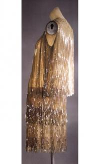 Трехярусная бахрома на платье Э. Молино 1926г.