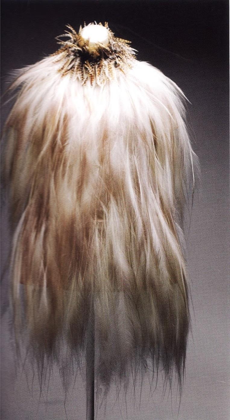 Туника из перьев райской птицы (Ив Сен-Лоран, 1969г)