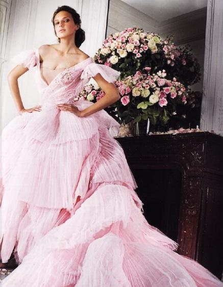 Тюлевое платье (Джон Гальяно для Dior Couoture, 2005г)