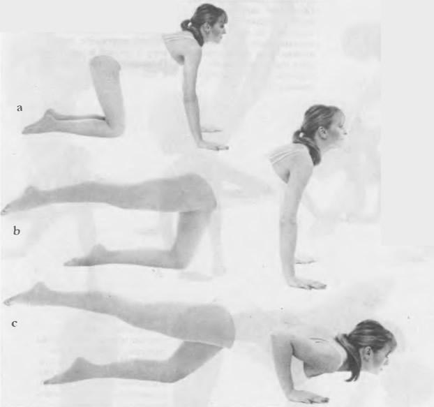 Упражнение для мышц грудной клетки