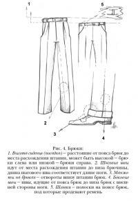 Устройство брюк