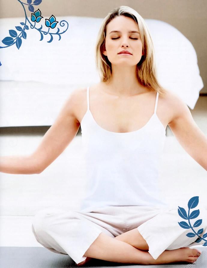 Утренний сеанс йоги
