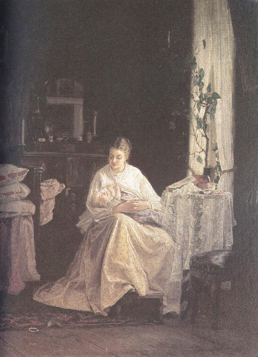 Василий Максимов. Материнство. 1871