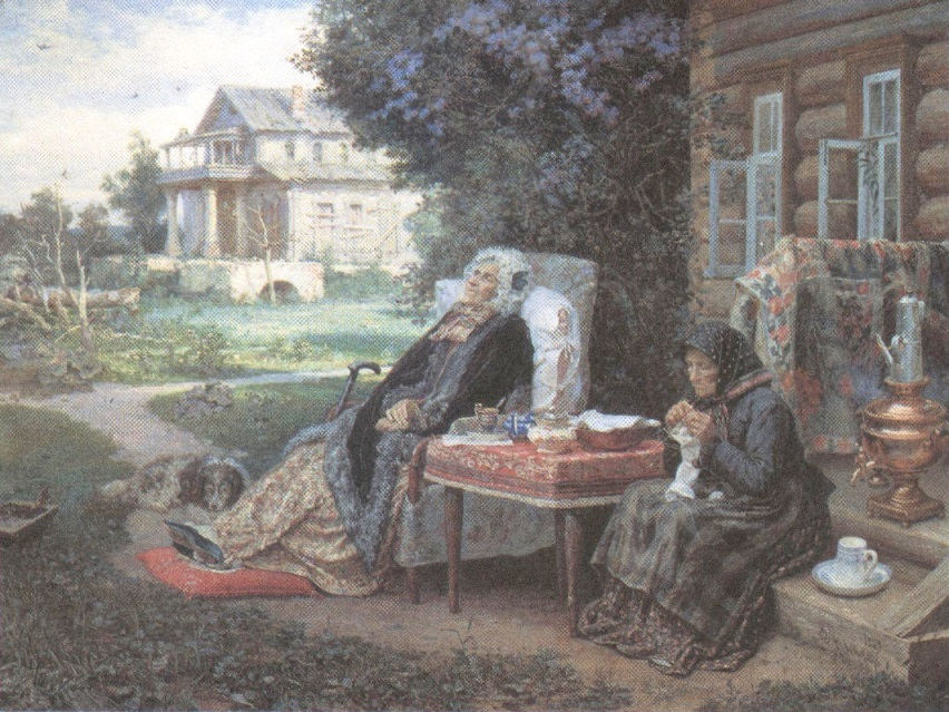 Василий Максимов. Всё в прошлом. 1889