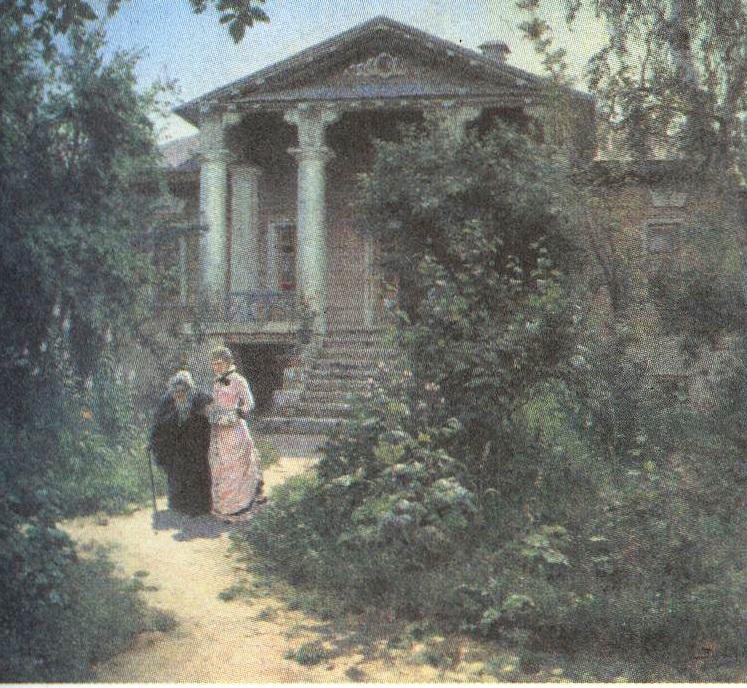 Василий Поленов. Бабушкин сад. 1878