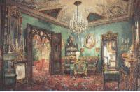 Василий Садовников. Зелёная гостиная. 1853