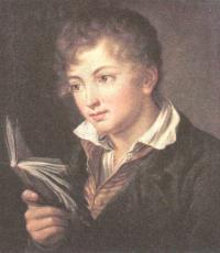 Василий Тропини. Мальчик с книгой