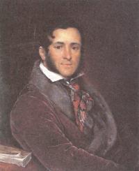 Василий Тропинин. Портрет Семёна Николаевича Мосолова. 1836