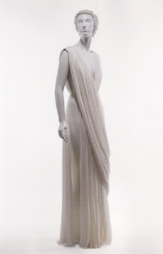 Вечернее платье мадам Гре в античном стиле (1965 г)