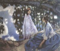 Виктор Борисов-Мусатов. Водоём. 1902