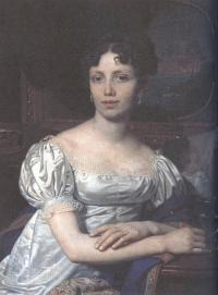 Владимир Боровиковский. Портрет Е.В.Родзянко. 1821