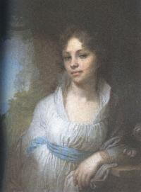 Владимир Боровиковский. Портрет Марии Ивановны Лопухиной. 1797
