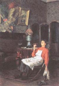 Владимир Маковский. Без хозяина. 1900-е